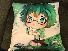 My hero academia pillows Deku Midoriya / Tsuyu Asui