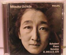 Schubert: Piano Sonatas Nos. 9 & 16, Mitsuko Uchida D845 D575 NM CD