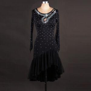 NEU Latino salsa Kleid TanzKleid LatinaKleid Latein Kleid Turnierkleid#F256