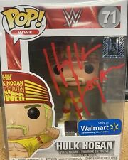 HULK HOGAN WWE FUNKO POP FIGURE - AUTOGRAPHED WWF TNA WCW Wrestling signed