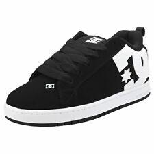 DC Shoes Court Graffik Mens Black Skate Trainers - 7 UK