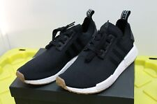 NEW Adidas NMD R1 PK Core Black / Gum Mens Size SZ 10.5 BY1887 DS Deadstock