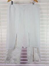 TS TAKING SHAPE sz 18  womens white Skant Cropped  Pants [#3026]