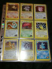 Pokemon Gym Heroes COMPLETE SET, 132/132, WOTC Set, Near Mint to Mint Condition