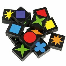 108pcs Qwirkle Board Game 2 to 4 Players Mix, Match, Score and Win