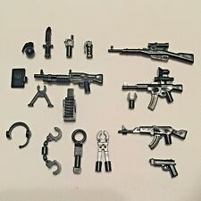 "14x ""special op"" modern weapons guns pack compatible with Lego minifigures"