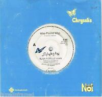 "JELLYBEAN - WHO FOUND WHO - RARE 7"" 45 VINYL RECORD - 1987"