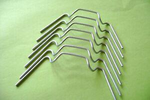 100  greenhouse W wire glass glazing clips