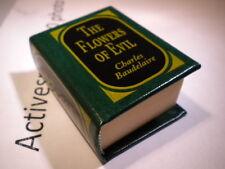 Del Prado miniature book - The Flowers of Evil - Charles Baudelaire