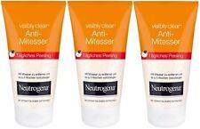 Neutrogena Visibly Clear Blackhead Eliminating Daily Scrub Wash (3 x 150ml)