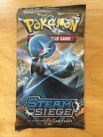 Pokemon TCG XY Steam Siege (1) 10-Card Booster Packs SEALED