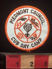 PIEDMONT COUNCIL Boy Scout Patch - Cub Day Camp 70T1