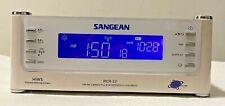 Sangean AM/FM Atomic Clock Radio with LCD Display  RCR22