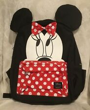 LOUNGEFLY DISNEY MINNIE MOUSE  PRINT  BACKPACK NEW UK SELLER