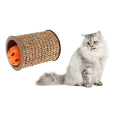 Sisal Cat Scratching Cylinder for Grinding Claws Cat Indoor Interactive Toy