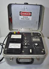 States Multi-Amp Multi-Volt MEGOHMMETER Insulation Tester 5 KV #- MG-50 60 HZ