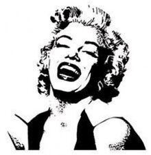 20 water slide nail art transfer decals Marilyn Monroe silhouette 3/8 inTrending