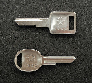 Jeep B46 RA3 Key Blanks Blank (Has Jeep and Chrysler Pentastar Logo)