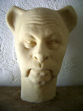 BERT LAHR Latex Head from MOVIELAND WAX MUSEUM MOLD! Cowardly Lion by Pat Newman