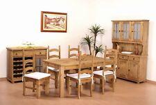 Essgruppe Pinie Holz massiv Tisch160+6Stühle Mexico Brasil Esstisch Stuhl B-Ware