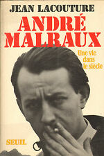JEAN LACOUTURE BIOGRAPHIE ANDRE MALRAUX 1973