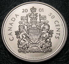 RCM - 2001-p - 50-cents - Coat of Arms - SPECIMEN - Uncirculated