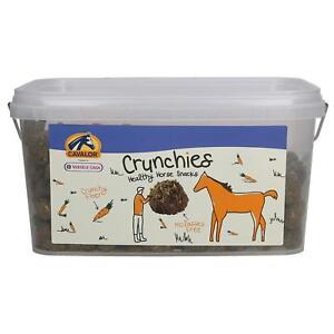 CAVALOR CRUNCHIES Horse & Pony Healthy Treats Molasses Free Carrot Flavour 1.5kg