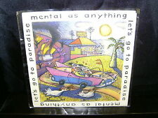 """MENTAL AS ANYTHING LET'S GO TO PARADISE – AUSTRALIAN 7"""" 45 VINYL RECORD P/S"""