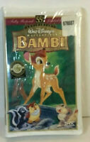 Disney Bambi Masterpiece VHS Clamshell Case Brand New Sealed