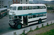 EX Rotherham Transport FET 131D MORRIS BROS, SWANSEA 6x4 Quality Bus Photo