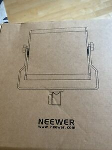 Neewer nl480 480 bi colour led video lighting panel inc mains adapter Brand New