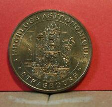 jeton touristique monnaie de paris l'horloge astronomique Strasbourg 2003 rare