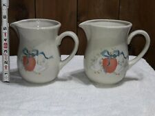 "Vintage Pair International China Marmalade 5.5"" Pitchers / Creamers"