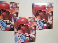 3 MIKE SCHMIDT Philladelphia PHILLIES 8x10 PHOTO 1989 BARRY COLLA PHOTO