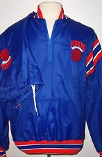 VTG 90's NEW YORK KNICKS NBA DELONG WARM-UP WINDBREAKER SUIT JACKET/ W PANTS XL