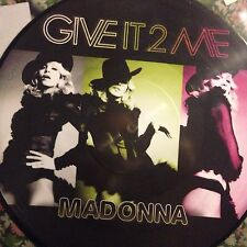 MADONNA • Give IT 2 Me • VINILE 12 Mix PICTURE
