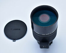 Canon Reflex Lens 500mm f/8 Mirror Lens with Caps & Rear Filter FD Mount (3031)