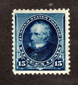 US Scott #227 MH  VF SCV $180