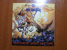 Mad Dragzter - Master of Space and Time Braz Old School Thrash Metal CD NEW RARE