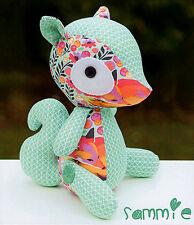 SAMMIE - Sewing Craft PATTERN - Soft Toy Felt Doll Animal Softie Squirrel