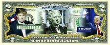2 DOLLARS 2016 DONALD TRUMP MAKE AMERICA GREAT AGAIN LUCKY MONEY VALUE $99.95