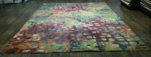 Used Safavieh Monaco Pink Contemporary Rug 9' x 12' Great condition rug