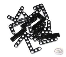 LEGO Technic - 15 x 'L' Studless Beams - 5x3, 7L - Black - Liftarm - New - (EV3)