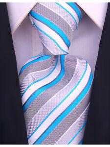 Scott Allan Striped Necktie - Mens Ties in Various Colors