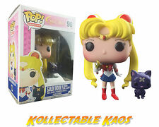 Sailor Moon - Sailor Moon with Wand & Luna Pop! Vinyl Figure