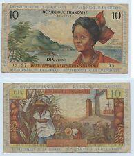 Gertbrolen  République Française Département de La Guyane 10 Francs Non Daté
