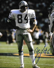 "ROB RUBICK SIGNED AUTOGRAPHED DETROIT LIONS 8"" x 10"" PHOTO W/ COA"
