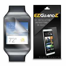 2X EZguardz LCD Screen Protector Cover HD 2X For Samsung Gear Live (Ultra Clear)
