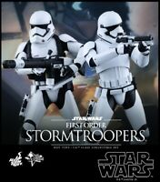 Star Wars The Force Awakens First Order 2-Pack Stormtroopers 1/6 Scale Hot Toys