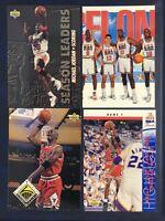 MICHAEL JORDAN 1992 SKYBOX DREAM TEAM 4 Card Lot Upper Deck NBA Hoops Inserts A